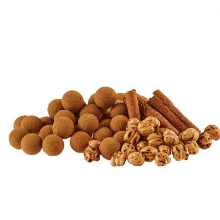 Cinnamon Flavored Chocolate Chickpeas