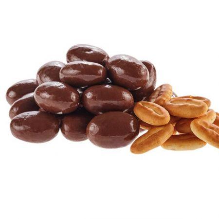 البسكويت المغلفة بالشوكولاتة