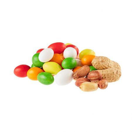 الفول السوداني الشوكولاته الملونة